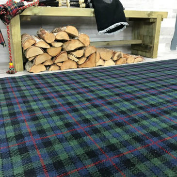 Campbell Tartan Rug Bespoke Sizes