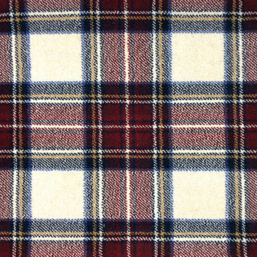 Stewart Dress Red Tartan Sample