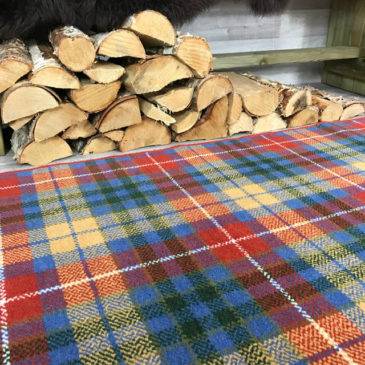 Buchanan Ancient Tartan Rug Bespoke Sizes