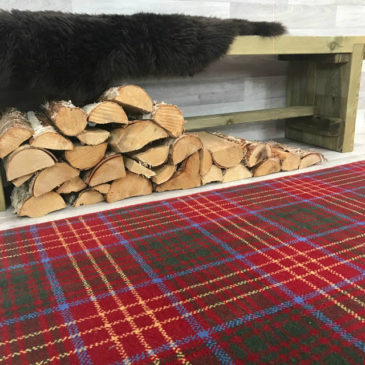 Burns Tartan Rug Bespoke Sizes
