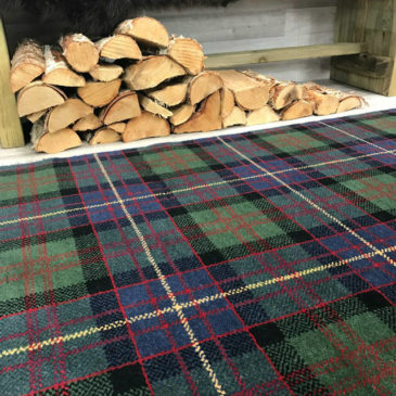 Cameron Of Erracht Tartan Rug Bespoke Sizes
