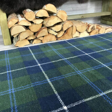 Douglas Ancient Tartan Rug Bespoke Sizes