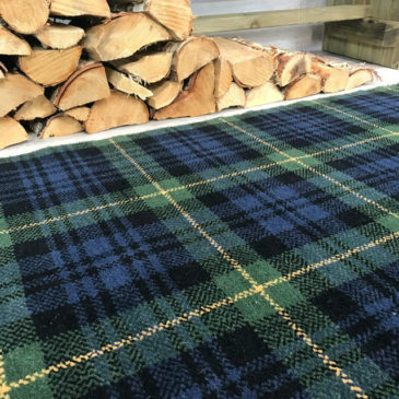 Gordon Modern Tartan Rug Bespoke Sizes