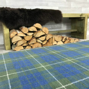 Hamilton Hunting Tartan Rug Bespoke Sizes