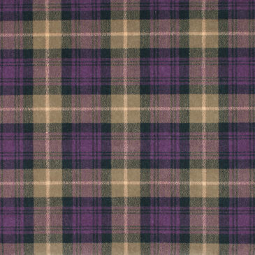 Heather Green Tartan Rug