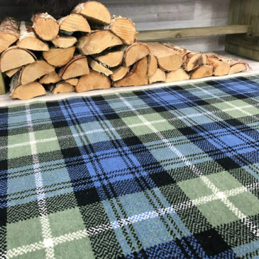 Lamont Ancient Tartan Rug Bespoke Sizes