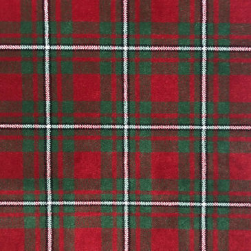 MacGregor Red Tartan Sample