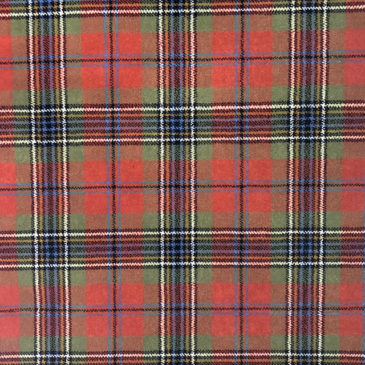 MacLean Ancient Tartan Sample