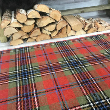 MacLean Ancient Tartan Rug Bespoke Sizes