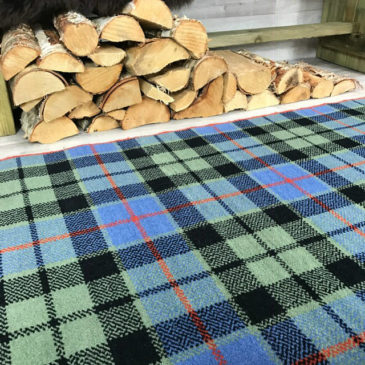 Morrison Ancient Tartan Rug Bespoke Sizes