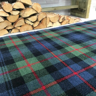 Murray Of Atholl Tartan Rug Bespoke Sizes