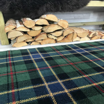 Ogilvy Hunting Tartan Rug Bespoke Sizes