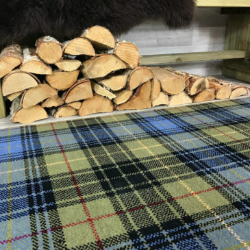 Stewart Ancient Hunting Tartan Rug Bespoke Sizes