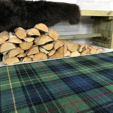 Stewart Dress Hunting Modern Tartan Rug Bespoke Sizes