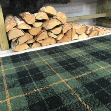 Wallace Hunting Tartan Rug Bespoke Sizes