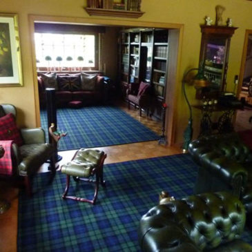 Black Watch Tartan Carpet