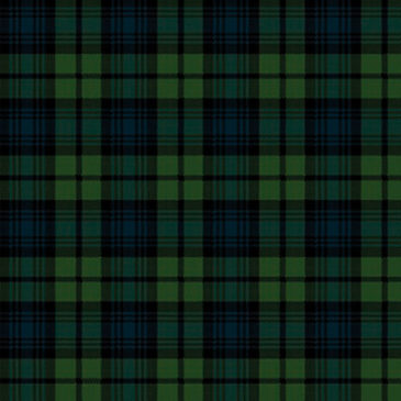 Black Watch Tartan Sample
