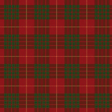 Cameron Red Tartan Sample
