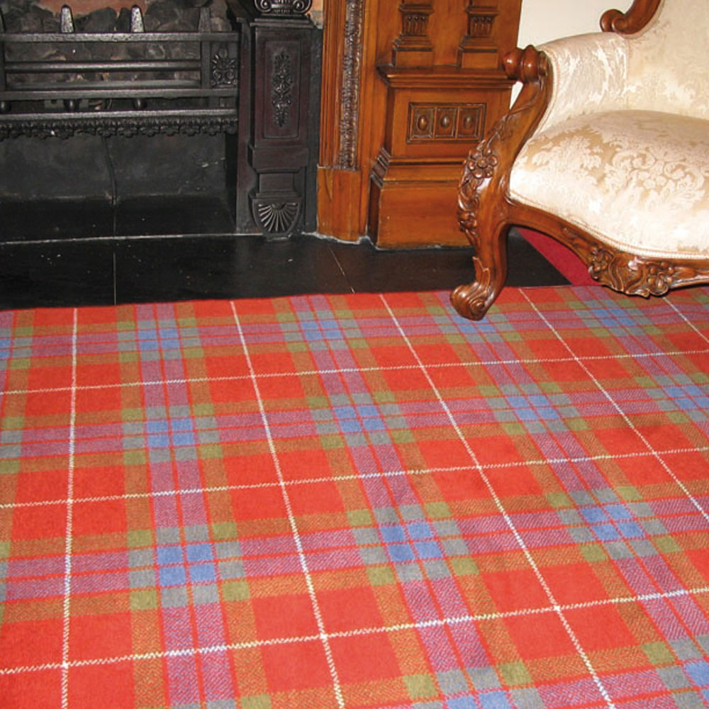 Fraser Weathered Tartan Carpet