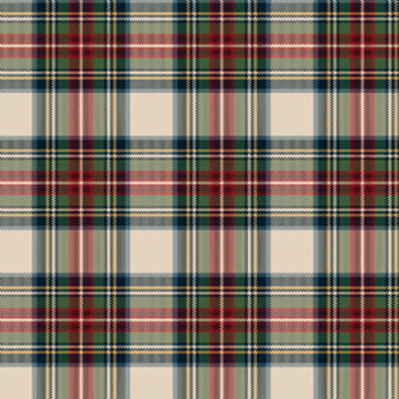 Stewart Dress Tartan Sample
