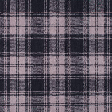 Douglas Grey Tartan Rug Bespoke Sizes