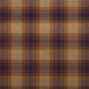 Heather Gold Tartan Rug