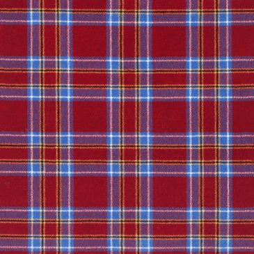 Inverness Red Tartan Rug Bespoke Sizes