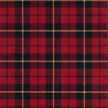 Wallace Red Tartan Sample