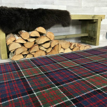 MacDonald Of Clanranald Tartan Rug Bespoke Sizes
