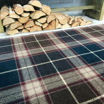 Blair Tartan Rug Bespoke Sizes