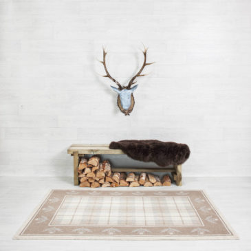 Balwen Thistle Border Rug Bespoke Sizes