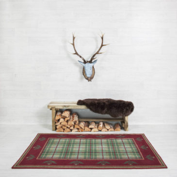 Brodie Hunting Thistle Border Rug