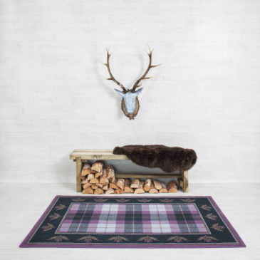 Thistle Border Rug Bespoke Sizes