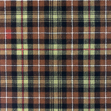 MacKenzie Hunting Tartan Rug Bespoke Sizes