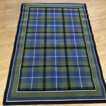 Blue Tartan With Border