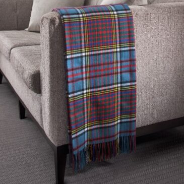 Anderson Tartan Lambswool Throw