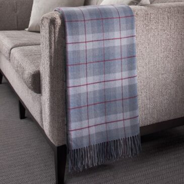 Cairngorm Tartan Lambswool Throw