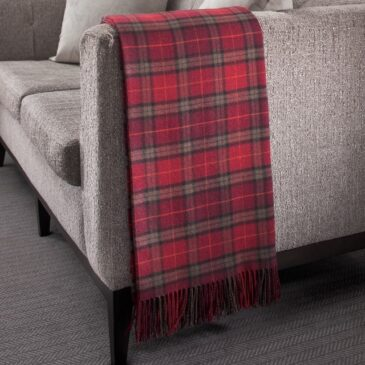 Duart Tartan Lambswool Throw