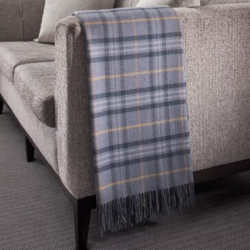 Loch Awe Tartan Lambswool Throw