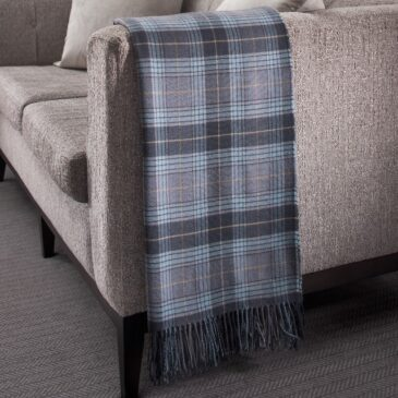 Oich Tartan Lambswool Throw